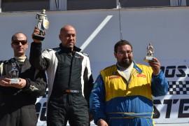 Víctor Vicente Álvarez ganador del 36 autocros Ciudad de Jerez en el centro de la imagen